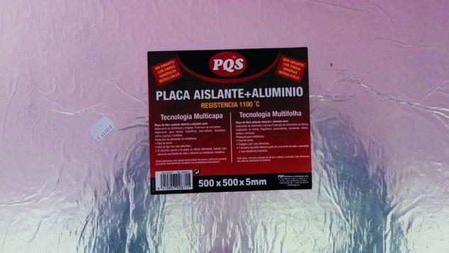 placa protección calor chimenea